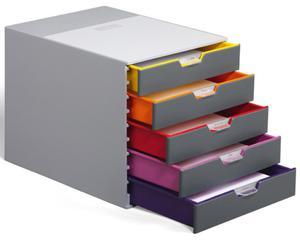 Pojemnik z 5 szufladkami Varicolor DURABLE - 2875379906