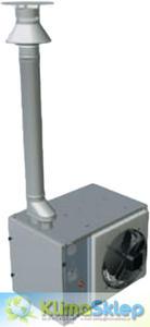 System kominowy / zestaw współosiowy pionowy do ApenGroup (80mm) - 2837456255