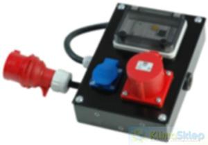 Wyłącznik różnicowo-prądowy do agregatów przenośnych FOGO - 2824749333