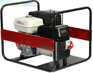 Agregat prądotwórczy FOGO FH 5000 E (moc 4,5kW - 5,6kVA - 400V - silnik HONDA) - 2844528665
