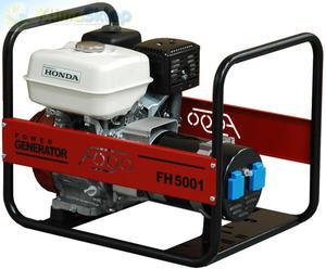 Agregat prądotwórczy FOGO FH 5001 E (moc 4,0kW - 4,0kVA - 230V - silnik HONDA) - 2844528667