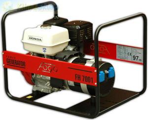 Agregat prądotwórczy FOGO FH 7001 E (moc 5,8kW - 5,8kVA - 230V - silnik HONDA) - 2844528669