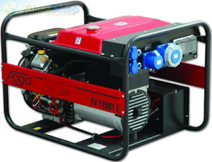 Agregat prądotwórczy FOGO FV 12001 E (moc 11,3kW - 11,4kVA - 230V - silnik BRIGGS & STRATTON) - 2844528679