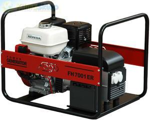 Agregat prądotwórczy FOGO FH 7001 R (moc 5,8kW - 5,8kVA - 230V - silnik HONDA) - 2844528687