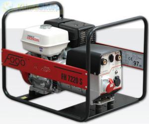 Agregat prądotwórczy FOGO FH 7220 W (moc 5,2kW - 6,5kVA - 400V - silnik HONDA) - 2844528700