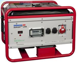 Agregat prądotwórczy ENDRESS ESE 606 DHG-GT ES DUPLEX plus (moc 5,3kW - 6,6kVA - 400V - silnik HONDA) - 2824749483