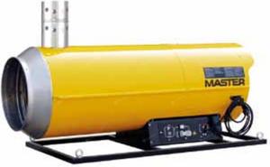 Nagrzewnica olejowa MASTER BVS 170 E - 47kW - podwieszana, z odprowadzaniem - 2824749807
