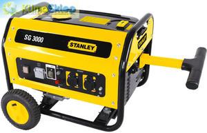 Agregat prądotwórczy STANLEY SG 3000 (moc 2,5kW - 2,5kVA - 230V) - 2824750050