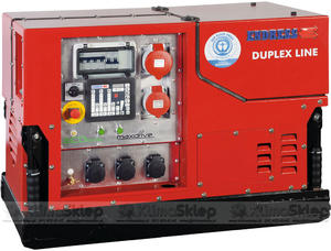 Agregat prądotwórczy ENDRESS ESE 1408 DBG ES DUPLEX silent (moc 12,3kW - 15,4kVA - 400V - silnik BRIGGS & STRATTON) - 2836907839