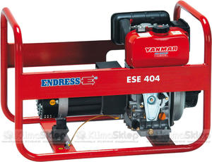 Agregat prądotwórczy ENDRESS ESE 404 YS DI (moc 3,5kW - 3,9kVA - 230V - silnik YANMAR) - 2836907843