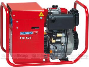 Agregat prądotwórczy ENDRESS ESE 604 DYS DI (moc 5,5kW - 6,9kVA - 400V - silnik YANMAR) - 2836907846
