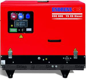 Agregat prądotwórczy ENDRESS ESE 608 YS-GT ES ISO DI (moc 5,4kW - 6kVA - 230V - silnik YANMAR) - 2836907854