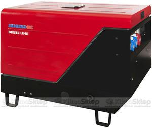 Agregat prądotwórczy ENDRESS ESE 1006 LS-GT ES ISO DI (moc 7,5kW - 8,3kVA - 230V - silnik LOMBARDINI) - 2836907857