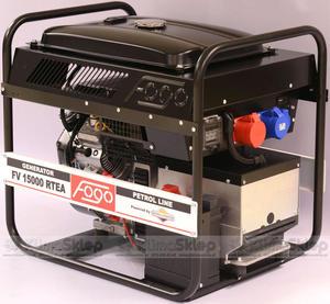 Agregat prądotwórczy FOGO FV 15000 RTEA (moc 10,4kW - 13,0kVA - 400V - silnik BRIGGS & STRATTON) - 2844528708