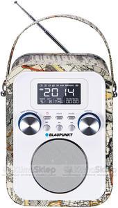Przenośny radioodtwarzacz Blaupunkt PP20MP - SD / USB / AUX / ZEGAR / ALARM z akumulatorem - 2846459032