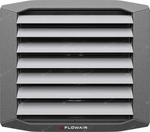 Nagrzewnica wodna Flowair LEO FB 10V ZESTAW (nagrzewnica + konsola + regulator obrotów z termostatem) - 2847502387