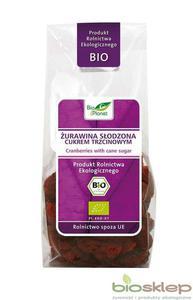 Żurawina słodzona cukrem trzcinowym BIO - 100g - Bio Planet - 2833521723