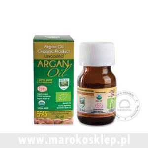 Olej arganowy kosmetyczny butelka szkło - 30ml - Maroko - 2833521177