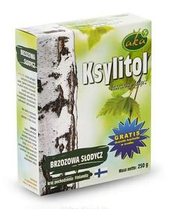 Ksylitol cukier brzozowy - 250g - Aka - 2847285503