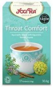 Herbata Throat Comfort (na gardło) - 17x1,8g - Yogi Tea - 2847791724