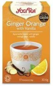 Herbata Imbirowo-pomarańczowa z wanilią - 17x1,8g - Yogi Tea - 2847791720
