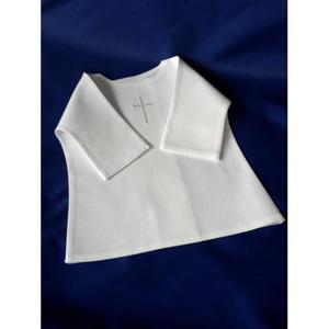 Haftowana szatka do chrztu - koszulka - 2832285980