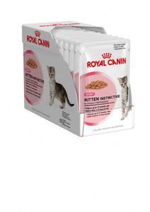 Royal Canin Kitten Instinctive w sosie 85g saszetka - 2498296626