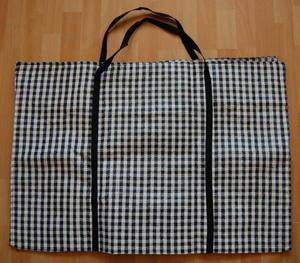 Super mocna, pleciona torba do przenoszenia towaru lub zakupów - średnia - 2822287247