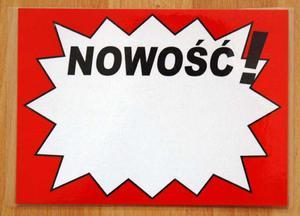 TABLICA INFORMACYJNA - NOWOŚĆ! - 2822287274