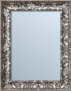 Fascynujące lustro w wyjątkowej srebrnej ramie - różne wymiary - 2826399792