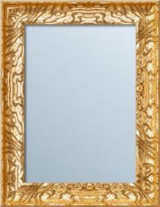 Fascynujące lustro w wyjątkowej złotej ramie - różne wymiary - 2826399793