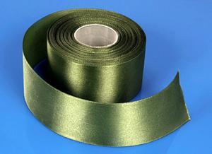 tasiemka satyna zielony 5 cm /25 m - 2824740446