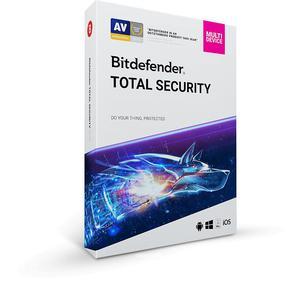 Bitdefender Total Security 2018 Multi-Device 5PC - 2839134700