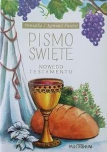 Biblia Tysiąclecia, format oazowy z wklejką na I Komunię Św. - 2832212532