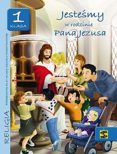 Jesteśmy w rodzinie Pana Jezusa Podręcznik dla klasy 1 Wydawnictwo Św. Stanisław - 2832212592
