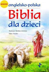 Angielsko - polska Biblia dla dzieci z płytą CD - 2834463440