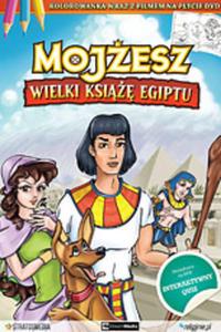 Film religijny Mojżesz Wielki książę Egiptu DVD + Kolorowanka - 2843947784