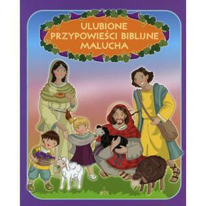 Ulubione przypowieści biblijne Malucha Ewa Skarżyńska - 2832213879