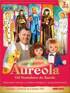 Aureola Od Stanisława do Karola - Komplet 3 książek i 3 płyt DVD - 2832213893
