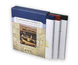 Co powinieneś wiedzieć o... Biblii, Jezusie, Ziemi Świętej (seria trzech tomów w etui) - 2832213963