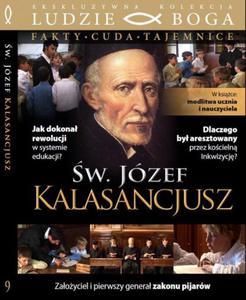 ŚW. JÓZEF KALASANCJUSZ FAKTY-CUDA-TAJEMNICE DVD + książka - 2832214089