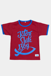 "Koszulka dziecięca ""Któż jak Bóg!"" - 2832214149"