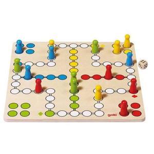 Drewniana gra chińczyk, logiczna zabawa Goki - 2843309011