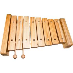 Cymbałki drewniane DUŻE - instrument muzyczny - 2832214558
