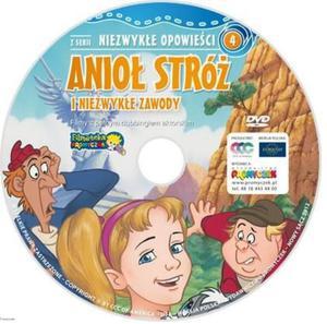 Anioł Stróż i niezwykłe zawody Promyczki DVD dla dzieci - 2832214602