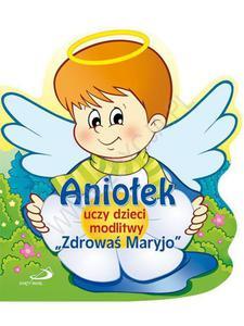 Aniołek uczy dzieci modlitwy  - 2832214652