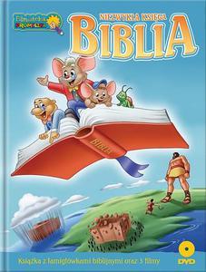 Niezwykła księga Biblia DVD + książka dla dzieci - 2842793754