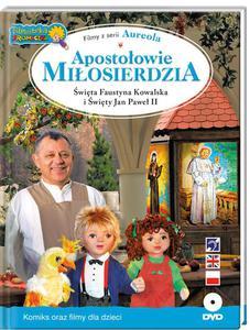 Apostołowie Miłosierdzia - Filmy z serii Aureola, św. Faustyna Kowalska i św. Jan Paweł II - 2842793755