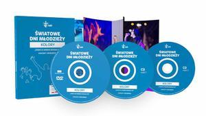 Światowe Dni Młodzieży Kolory KONCERT UWIELBIENIA DVD+2xCD - 2846369524