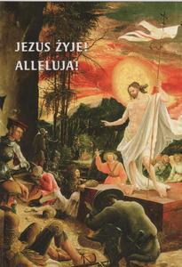JEZUS ŻYJE! ALLELUJA! Kartki Wielkanocne - 2846884054